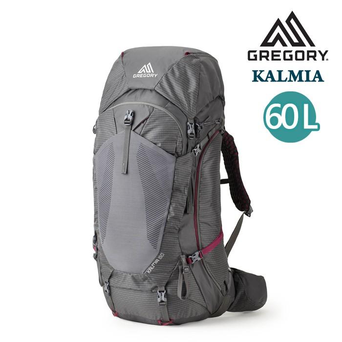 Gregory 美國 女 60L S/M KALMIA 登山背包 旅行背包 攀登背包 二分灰 GG137242 綠野山房