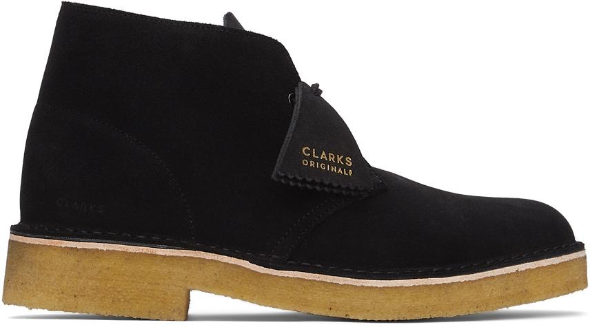 Clarks Originals 黑色 221 沙漠靴
