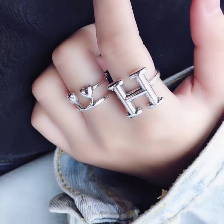 純銀飾品戒指(路斯
