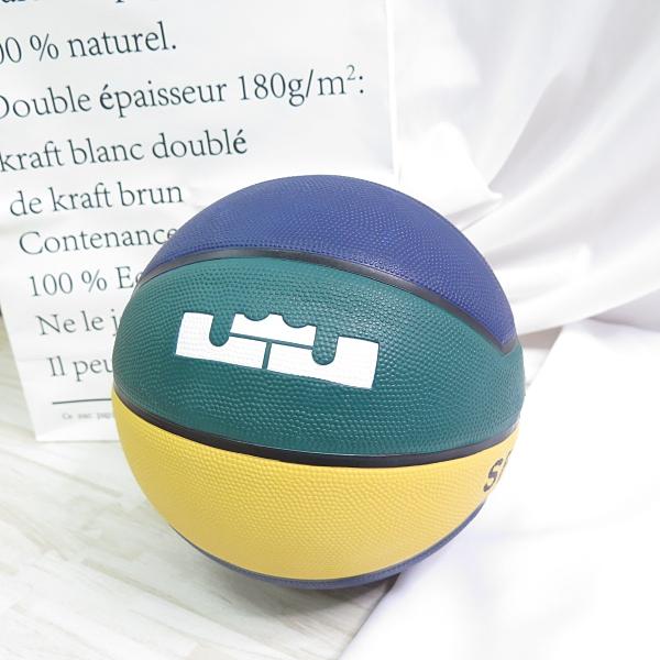 NIKE LEBRON PLAYGROUND 4P 七號籃球 278449007 籃球 藍綠黃【iSport愛運動】