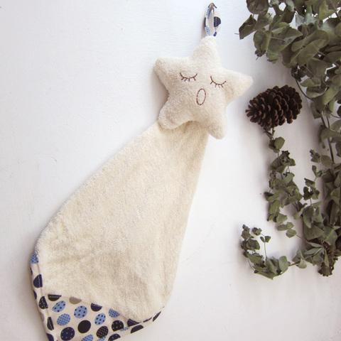 無染睡睡臉-星星擦手巾