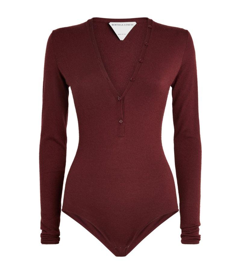 Bottega Veneta Cashmere-Rich Bodysuit