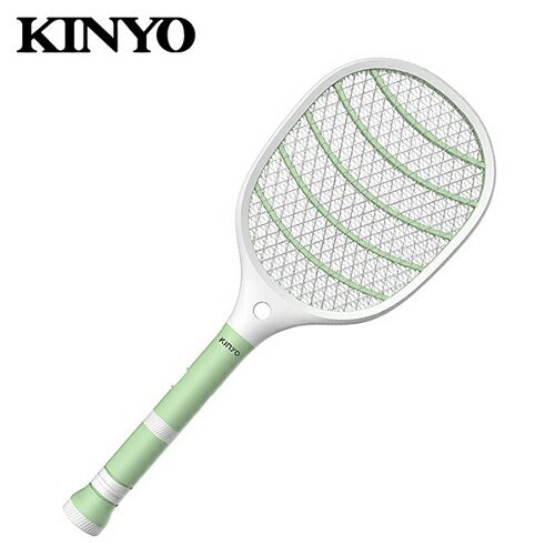 【KINYO 耐嘉】CM-3320 分離式充電手電筒電蚊拍【三井3C】