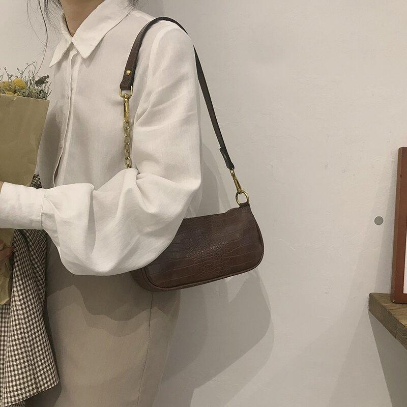 高級感小眾包包女新款潮by far腋下包百搭鏈條包手提包