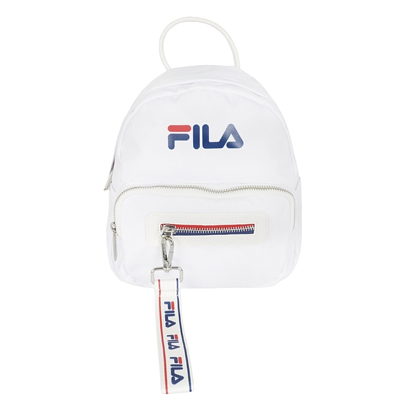 Fila Bag [BPT-9003-WT] 後背包 防潑水 休閒 小尺寸 輕量 方便 輕巧 兒童包 白