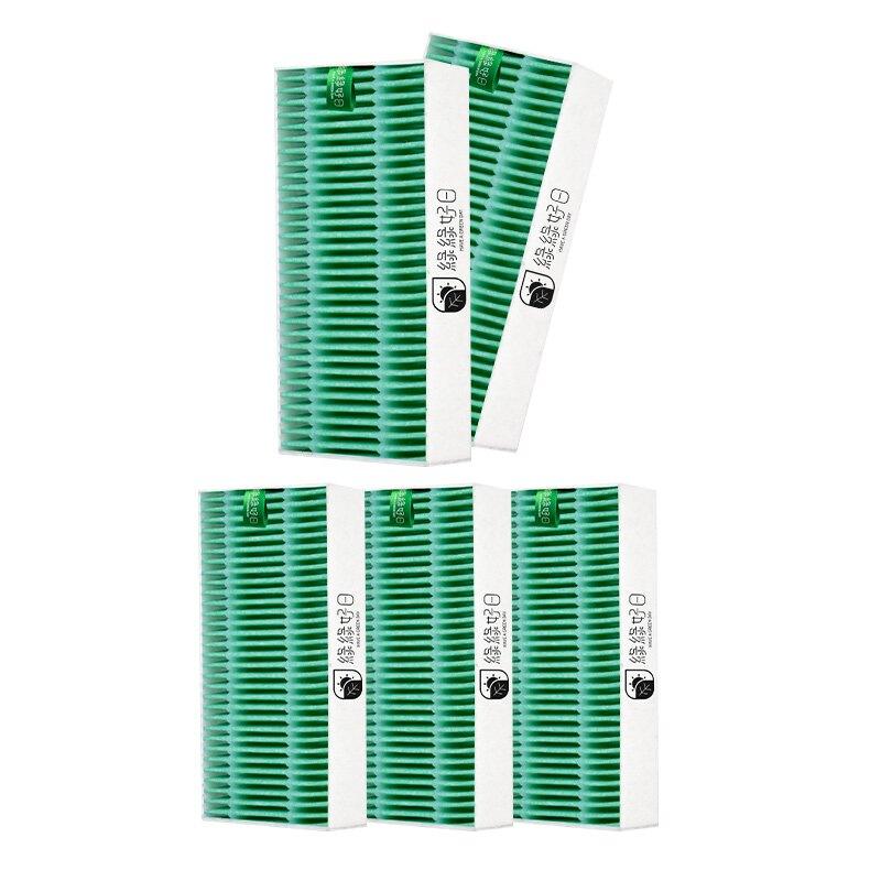 綠綠好日 抗菌 HEPA 濾芯 5入組 適用 LG PuriCare mini 隨身空氣清淨機 AP151MBA1