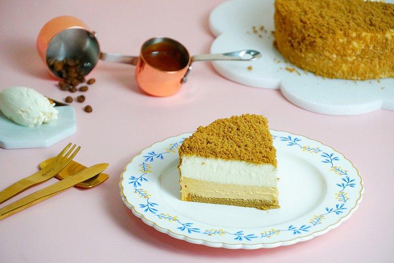 焦糖瑪奇朵起司蛋糕