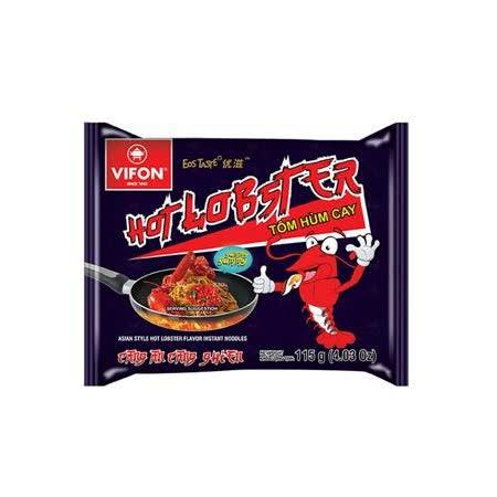 VIFON味豐 越南味豐 辣龍蝦乾拌麵/蟹湯米細麵 30包/箱