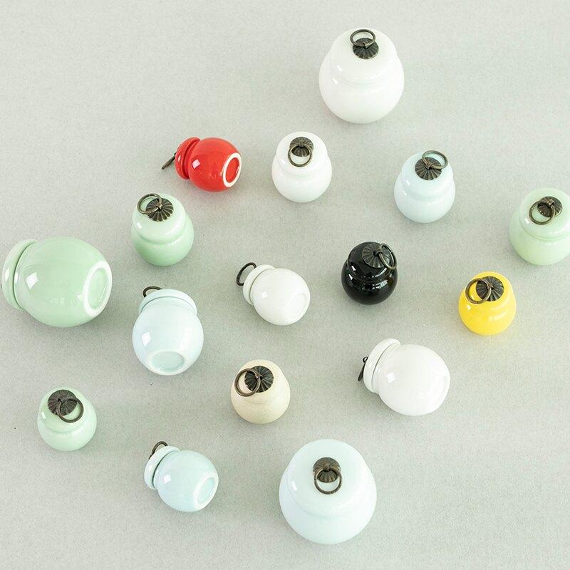 逸峰陶瓷膏方專用中藥粉香粉瓶胭脂口紅分裝瓶藥膏密封罐包裝