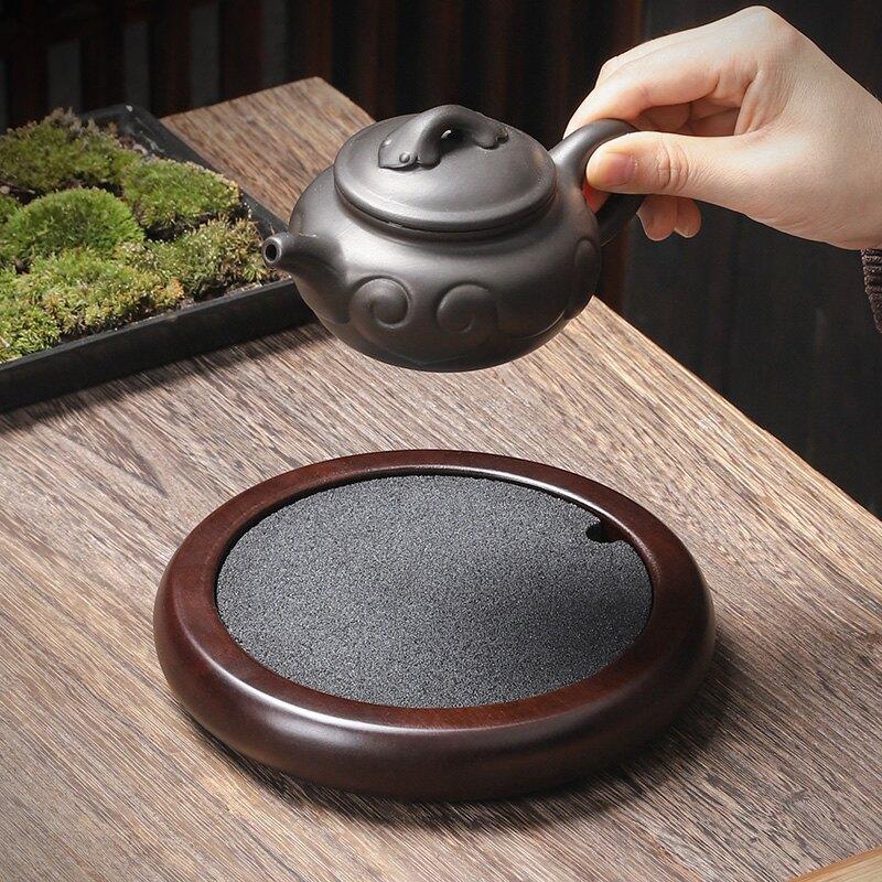 創新品-瞬消-無孔排水消水無痕紫砂養壺墊壺承 家用茶壺底座壺托