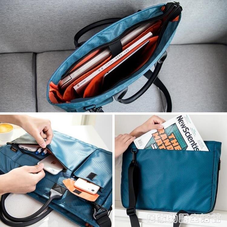 手提文件袋A4拉錬袋便攜公文包男女士商務辦公會議袋資料袋電腦包8%贈點大派送