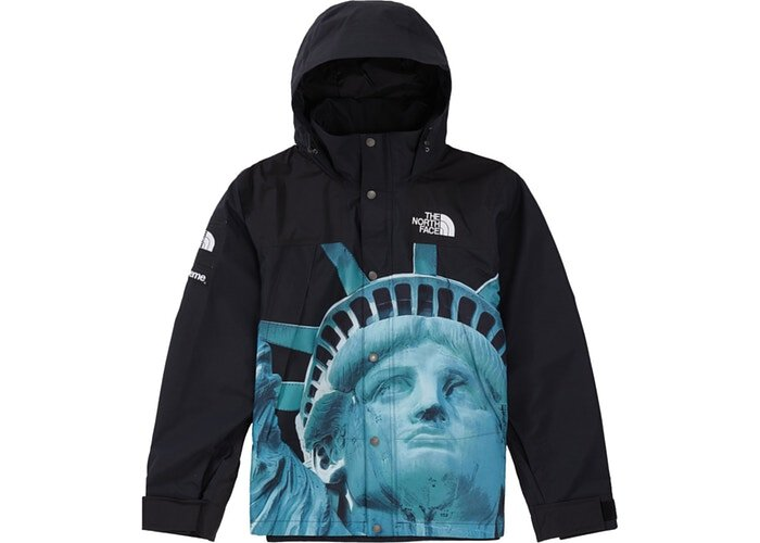 Supreme The North Face Statue of Liberty Mountain Jacket 衝鋒外套 黑