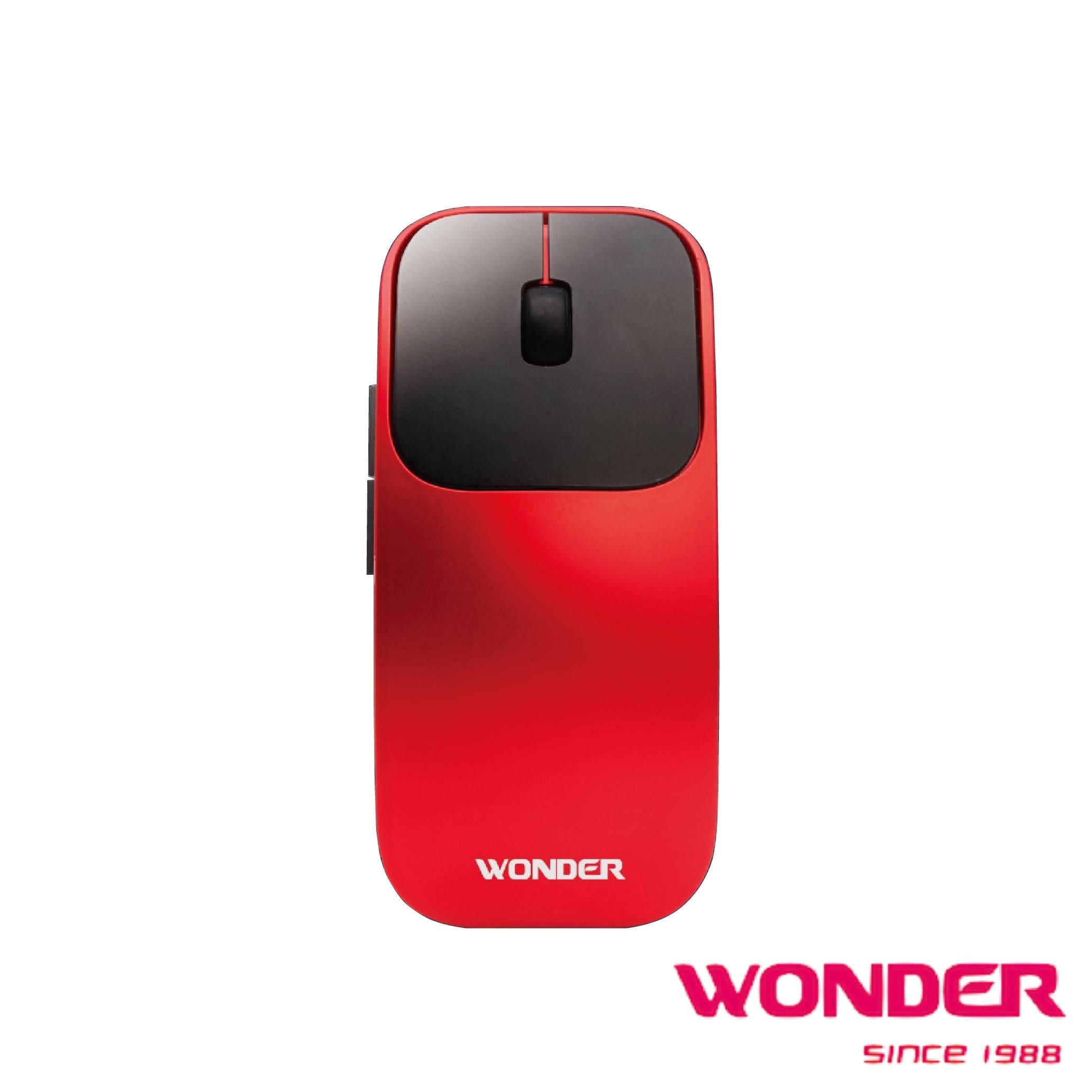 【WONDER】AI無線語音打字翻譯滑鼠-紅