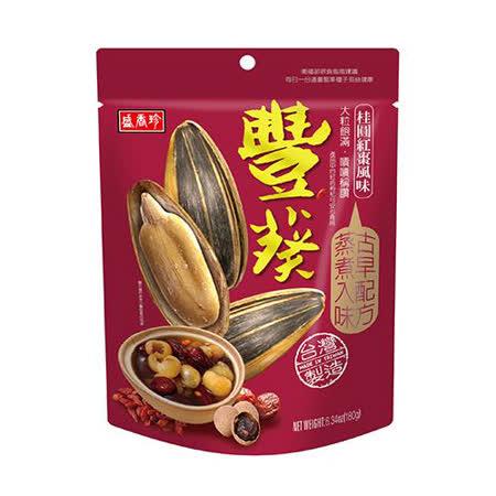 盛香珍豐葵香瓜子-桂圓紅棗150g