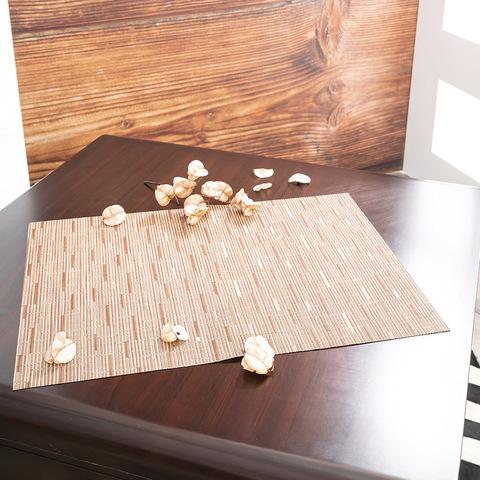 CHILEWICH 0025-Brick  Bamboo 長方型餐墊36*48cm