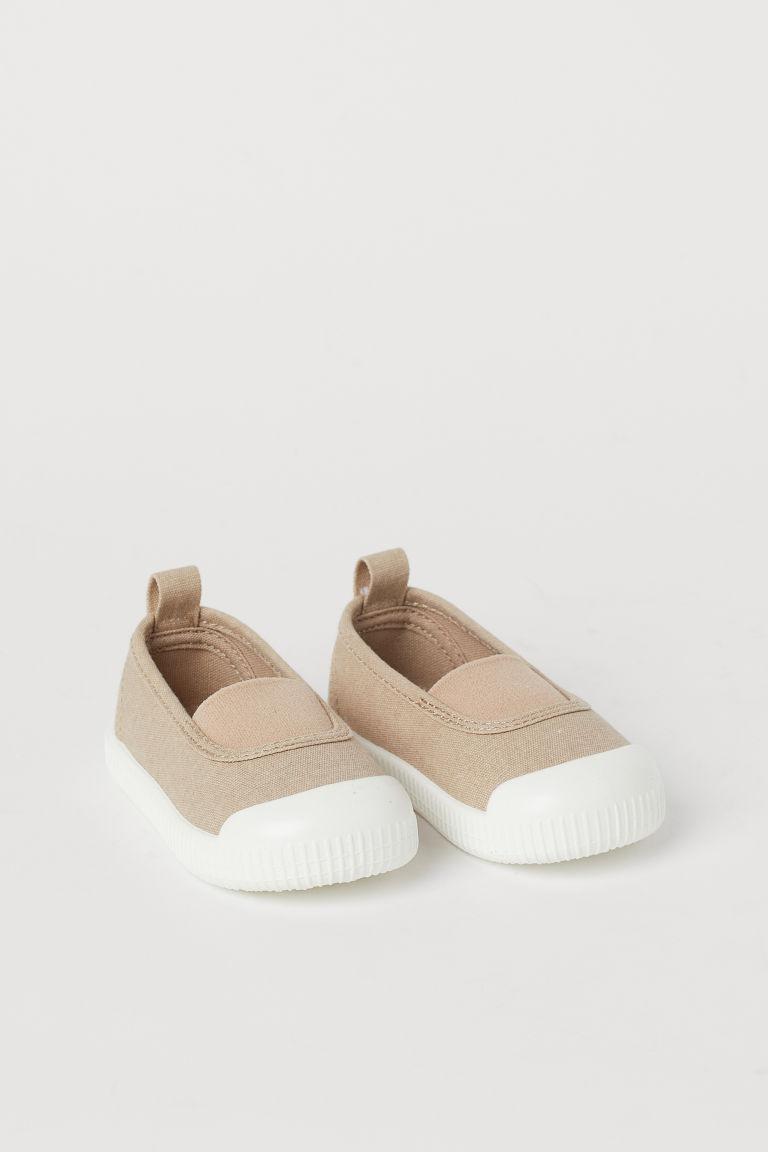 H & M - 懶人鞋 - 米黃色