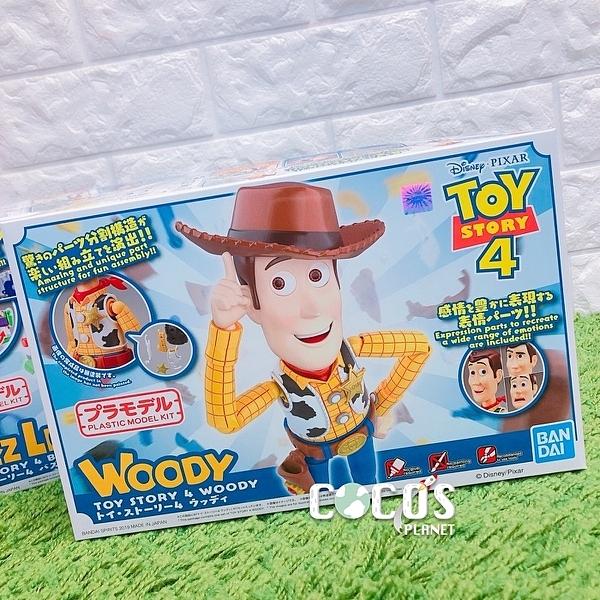 正版 BANDAI Cinema-rise Standard 玩具總動員 胡迪 組裝模型公仔 COCOS FG680