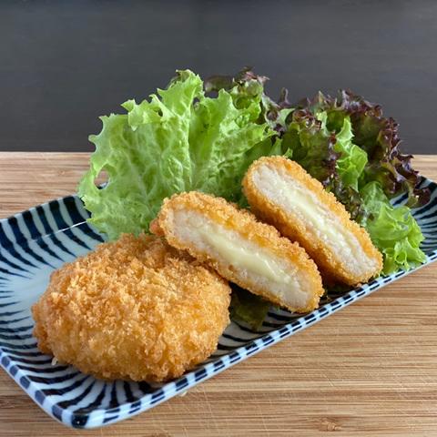 【滿額出貨】*鮮食市集北海道起司可樂餅20片
