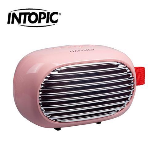 INTOPIC 廣鼎 SP-HM-BT166-PK 多功能藍牙喇叭 粉色