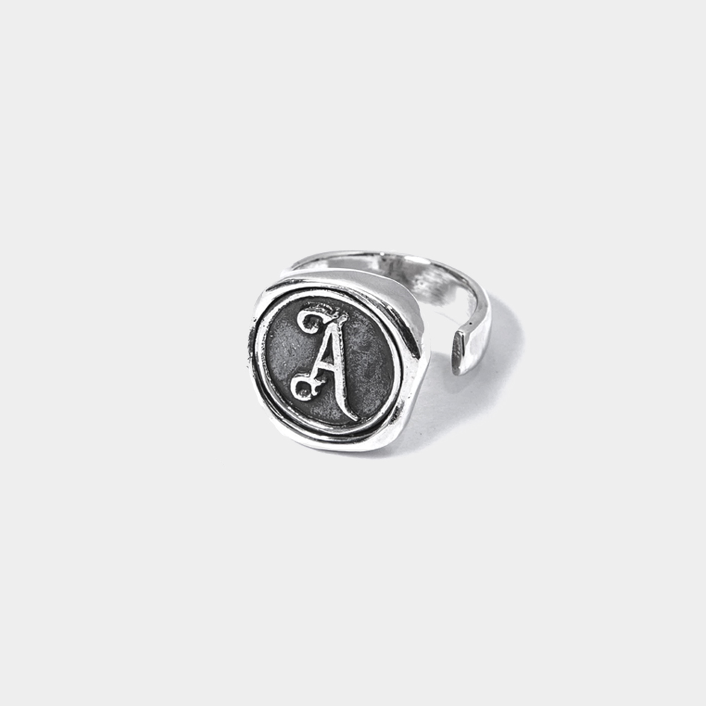 Recovery 純銀訂製封蠟戒指