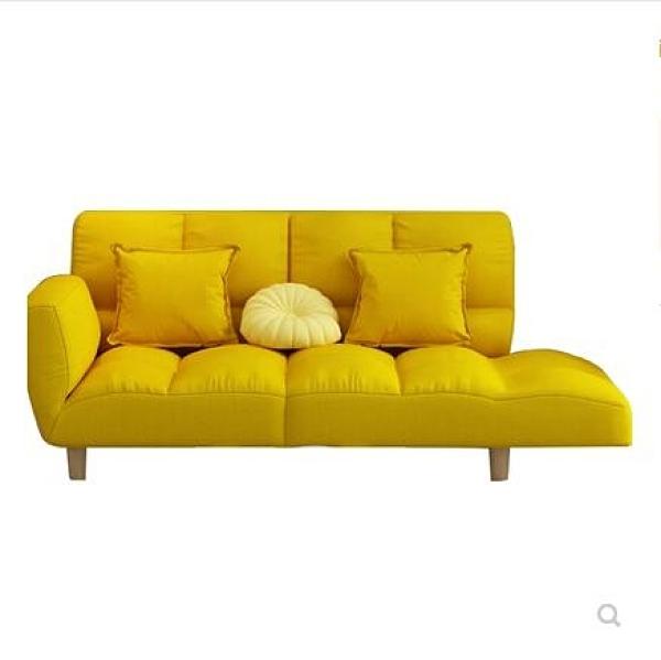 沙發 ins網紅懶人沙發小戶型單雙人陽台摺疊沙發床臥室榻榻米小沙發椅 艾莎