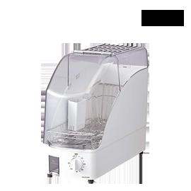 嘉頓國際 小泉成器 KOIZUMI【KDE-0500】烘碗機 二人份 小型 直立式 溫風乾燥 時間設定 排水 租屋族 小套房