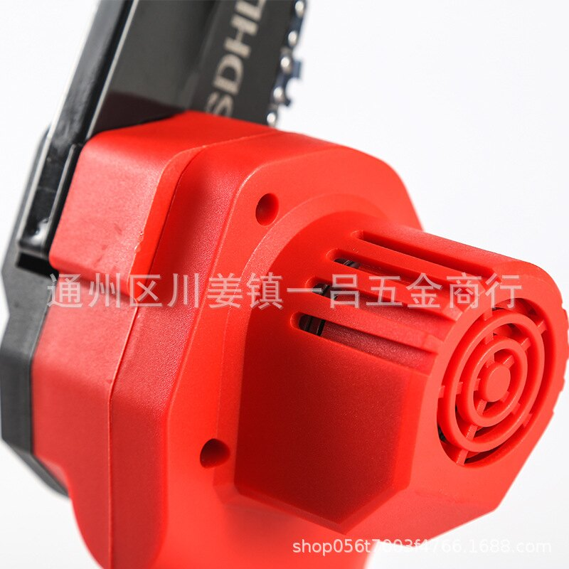 美國鋰電電鏈鋸充電式家用小型手持迷你鋸果園修枝戶外電動伐木鋸