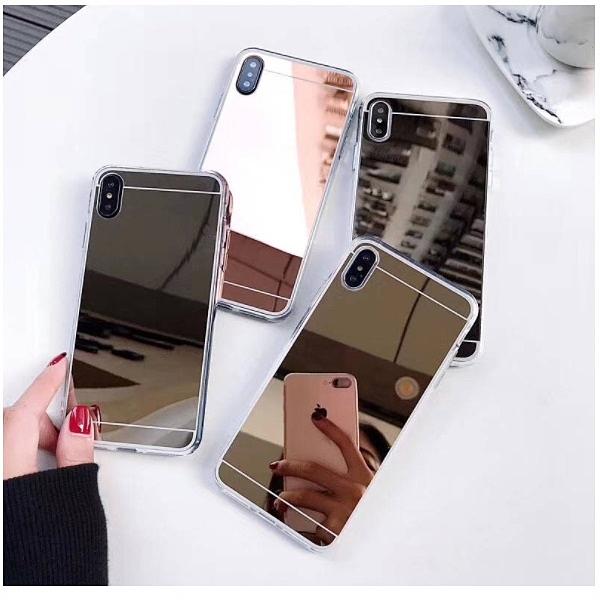 三星 S20 FE S10 S10e S10+ S9 S9+ S8 S8+ S7 Edge 電鍍鏡面軟殼 手機殼 保護殼 全包 鏡面 軟殼
