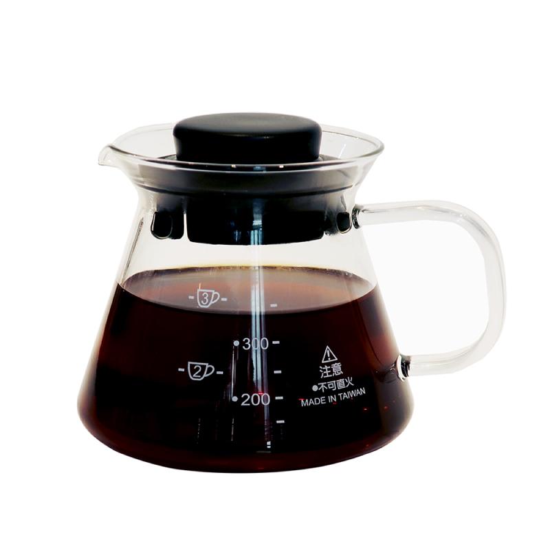 AIDIO 耐熱玻璃壺360ml (咖啡壺/花茶壺)