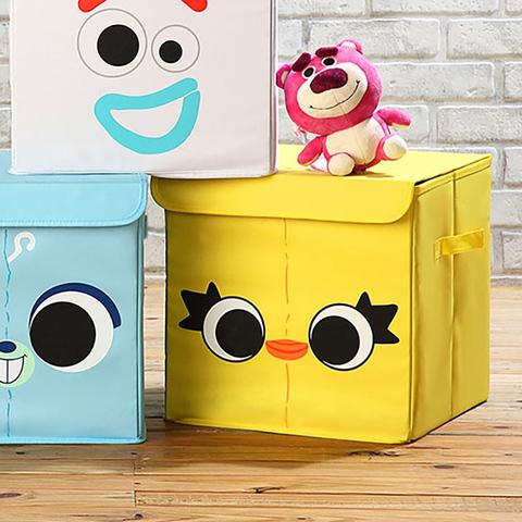 *玩具總動員方形收納箱(鴨霸)