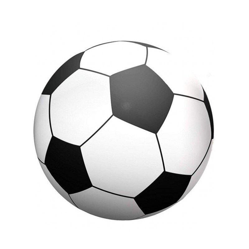 沙灘氣球/充氣球 特大號充氣球足球拍攝道具趣味運動會設施六瓣西瓜球戲水球沙灘球【夏日必備】【XXL5450】