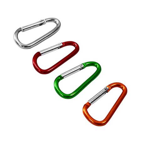 D型登山扣(4入)