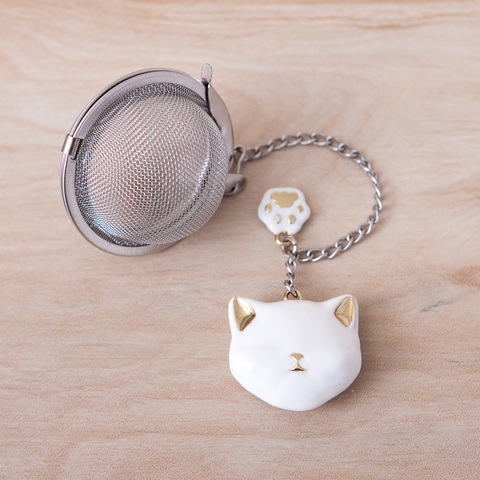Gift concept白貓濾茶器