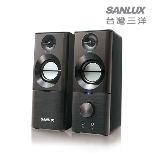 SANLUX台灣三洋 2.0聲道USB多媒體喇叭 SYSP-190