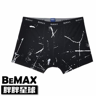 【胖胖星球】中大尺碼‧特色斑駁印花平角內褲 XL~6XL‧加大【79101】