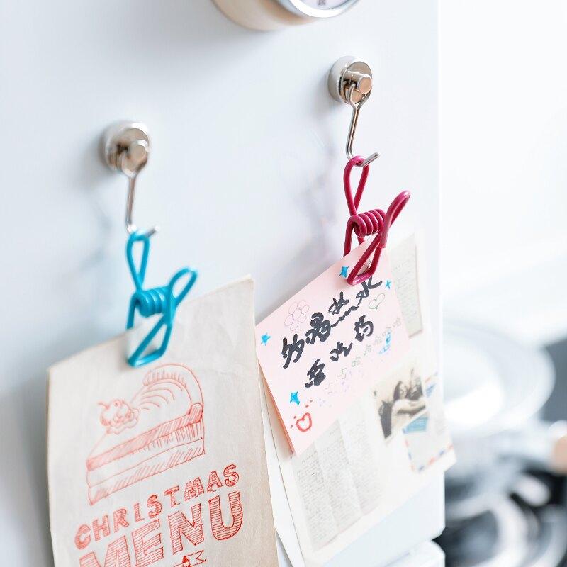 家用安全防滑晾衣夹衣服夹子多功能发票夹文件夹子固定照片夹