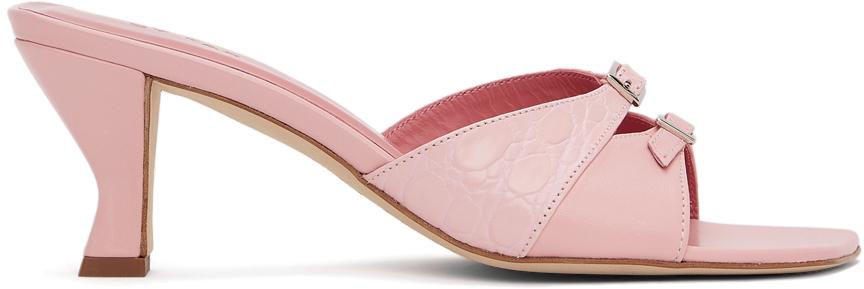 BY FAR 粉色 Noor 凉鞋