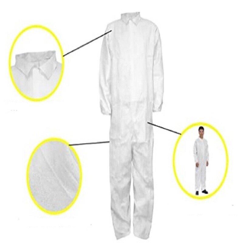 一次性防護衣隔離衣防塵衣防護服隔離服整件重約160G左右限量出清非醫療防疫