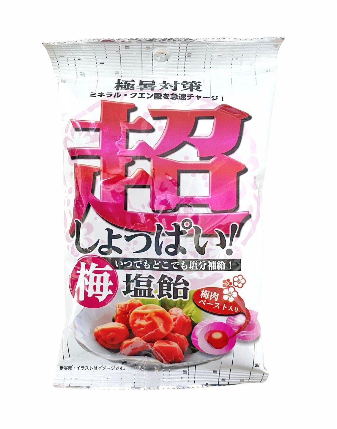 大阪屋製菓 超梅子鹽糖 80g