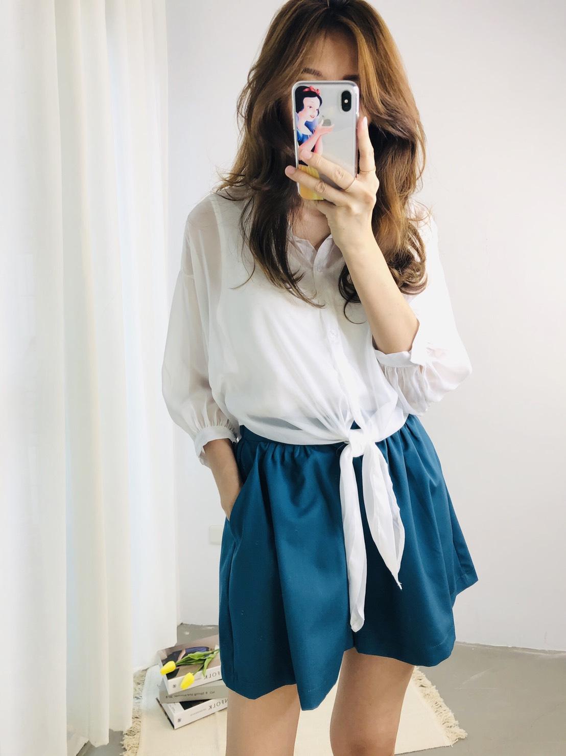【missy shop】奶油栗子襯衫-2930