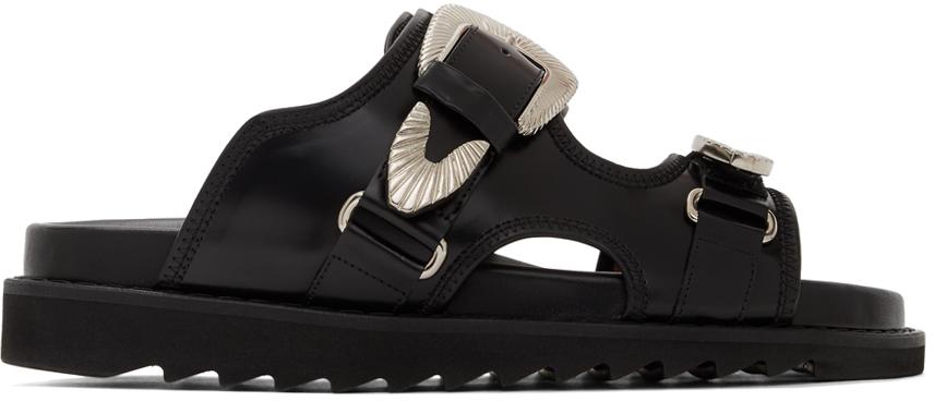 Toga Virilis 黑色 Polido 凉鞋