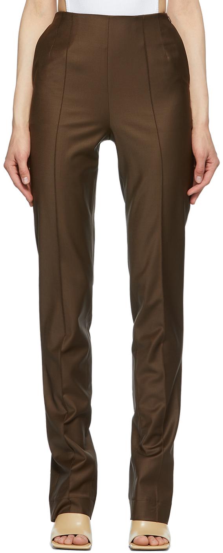 Matériel Tbilisi 棕色 Tropical 开衩长裤