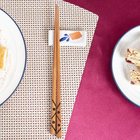 箸福幾何木筷23CM