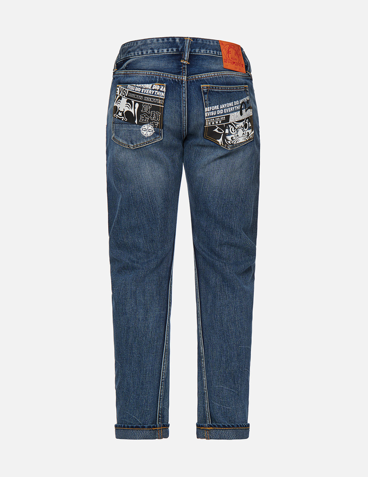 Godhead and Daruma 3D Fit Jeans