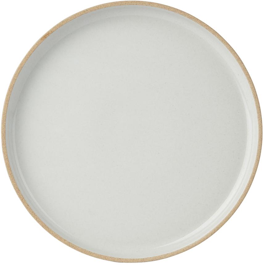 Hasami Porcelain 灰色 HPM004 餐盘