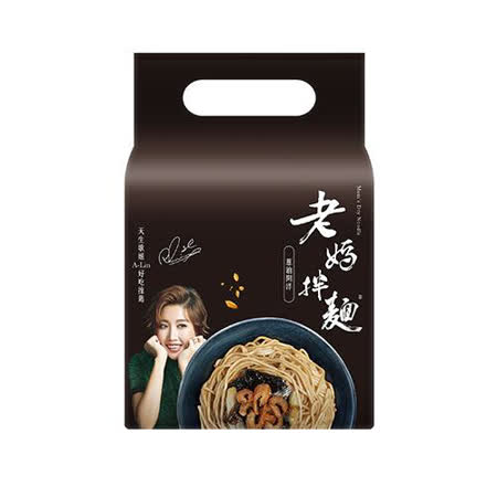 老媽拌麵 A-Lin版 蔥油開洋 4包/袋