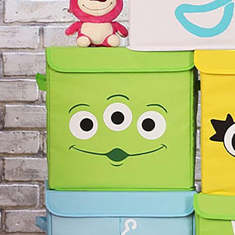 *玩具總動員方形收納箱(三眼怪)