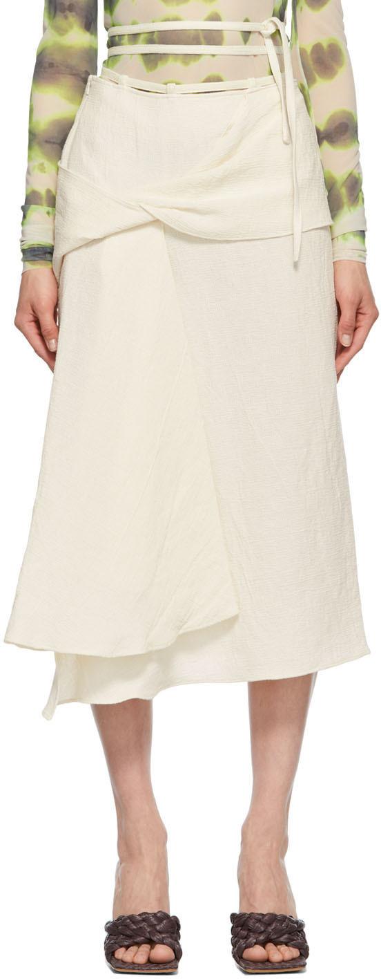 Sportmax 灰白色 Dyser 半身裙