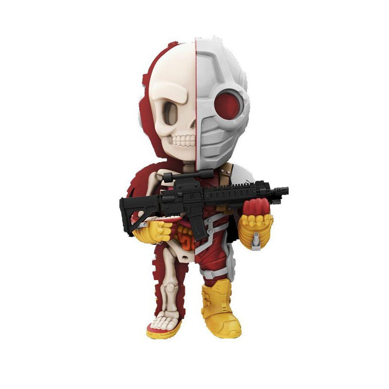 Mighty Jaxx XXRAY 半剖 DC Deadshot 死射