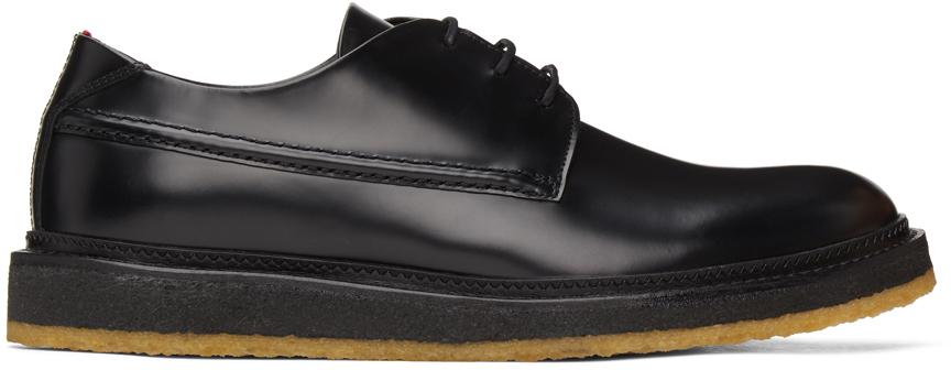 HUGO 黑色 Kiren 德比鞋